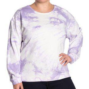MELLODAY Tie-Dye Crew Neck Sweatshirt 2X